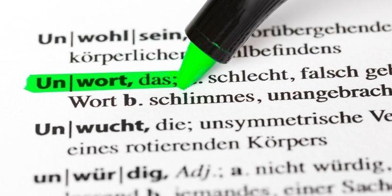 Род в немецком языке не всегда требует словаря