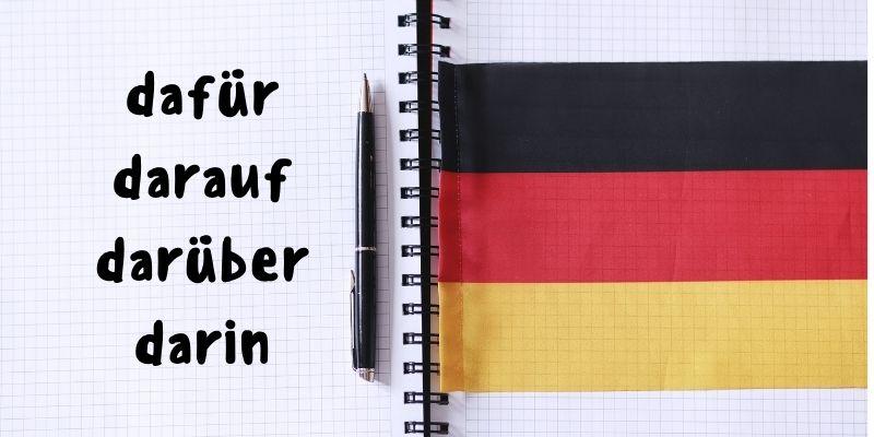 Самые популярные местоименные наречия в немецком