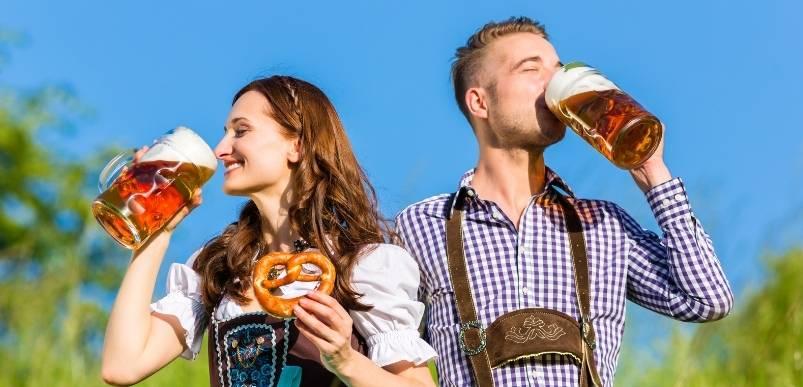 Немецкий молодежный сленг - бухать